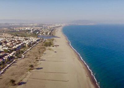 vista aerea playa